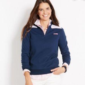 Vineyard Vines Shep Shirt Pullover - Navy - EUC